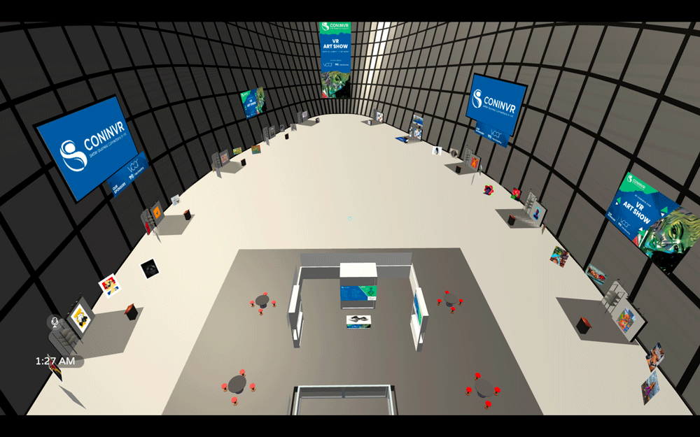 virtual conference hall